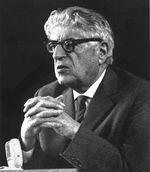 Ernst Bloch 1962 auf den Bayreuther Festspielen