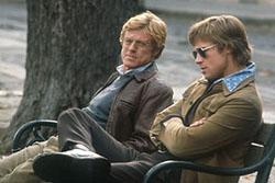 Robert Redford und Brad Pitt
