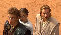 Anakin, Amidala und Obi-Wan