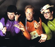 Mr. Spuck (Michael Bully Herbig), Käpt'n Kork (Christian Tramitz), Schrotty (Rick Kavanian)