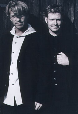 André Eisermann und Jacob Vinje
