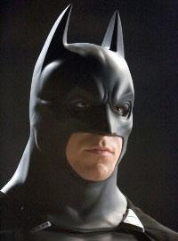 ...als Batman...
