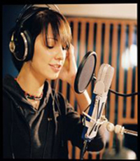 Christina im Studio