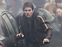 Ray Ferrier (Tom Cruise) auf der Flucht vor den Aliens