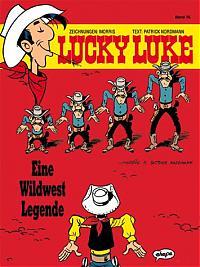 """Band 76, der letzte von Morris gezeichnete """"Lucky Luke""""."""