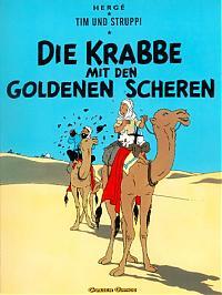 """""""Tim und Struppi"""" Band Nummer acht """"Die Krabbe mit den goldenen Scheren"""""""