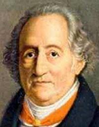 Der Dichter Johann Wolfang von Goethe