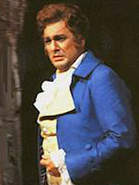 Placido Domingo als Werther