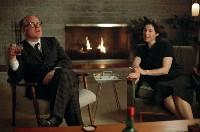 Capote (Philip Seymour Hoffman, l.) wirkt im amrikanischen Hinterland sichtlich deplatziert...