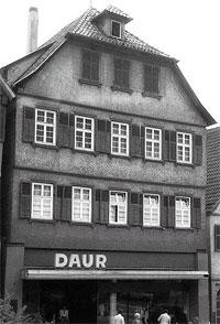 In diesem Haus in Calw wurde Hermann Hesse am 2. Juli 1877 geboren
