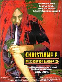 """Das Cover des gleichnamigen Films zum Buch """"Christiane F. - Wir Kinder vom Bahnhof Zoo"""""""