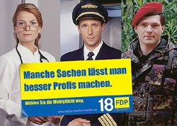Mit diesem und ähnlich markanten Sprüchen will die FDP im September um Stimmen werben.