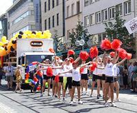 CSD-Parade (2003): Genug Aufmerksamkeit geerntet?