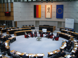 Das Plenum - das Berliner Abgeordnetenhaus im Preußischen Landtag