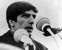 Promovierter Soziologe und bekanntester Studentenführer der Studentenbewegung: Rudi Dutschke