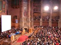Eröffnungszeremonie in der McEwan Hall