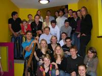 Die Delegation der TU Dresden