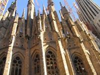 "Die Kirche der ""Sagrada Família"" in Barcelona"