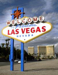 """""""Welcome to Fabulous Las Vegas"""" - der von Betty Willy 1955 entworfene Willkommensgruß ist ein Wahrzeichen von Las Vegas geworden"""