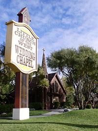 """Eine der typischen """"Wedding Chapels"""" in Las Vegas"""