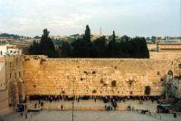 An der Klagemauer in Israel beten Juden seit Jahrhunderten.