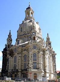 Die Frauenkirche Dresden. Mit ihr soll der gesamte Neumarkt neu in Szene gesetzt werden