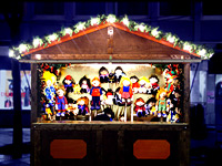 Strapazen auf dem Weihnachtsmarkt