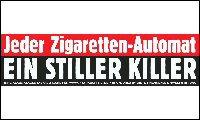 Zigaretten sind leichter zu bekommen als ein frisch gebackenes Brot, eine Flasche Mineralwasser oder lebenswichtige Arzneimittel. Alleine in Deutschland gibt es 720.000 Zigarettenautomaten.