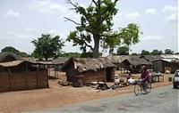 Ghanaische Dörfer: Einfach aber einladend