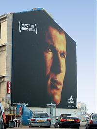 Marseille schenkt Zidane eine Hauswand