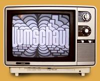 Mehr als 500 Mal flimmerte die Umschau zu DDR-Zeiten über den Bildschirm. Zu sehen ist hier das alte Logo der Sendung.